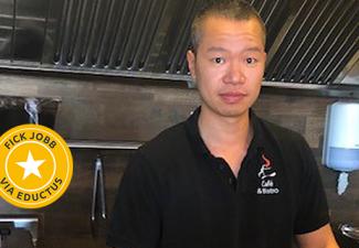 Ben blev sushikock – räddade restaurangen