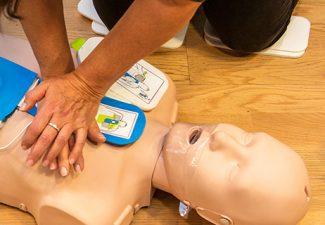 Vi lär oss rädda liv